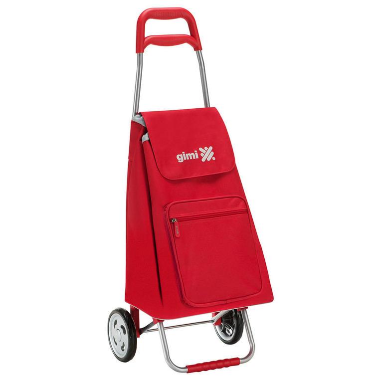 Nákupní taška na kolečkách GIMI Argo červená