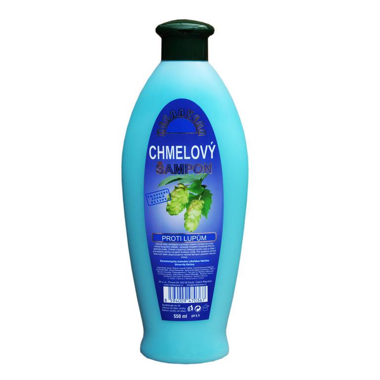 Herbavera Chmelový šampon proti lupům 550 ml