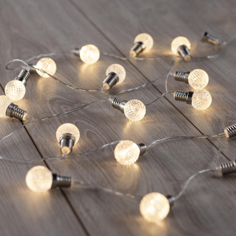 Světelný řetěz Žárovky 20 LED 2,4 m