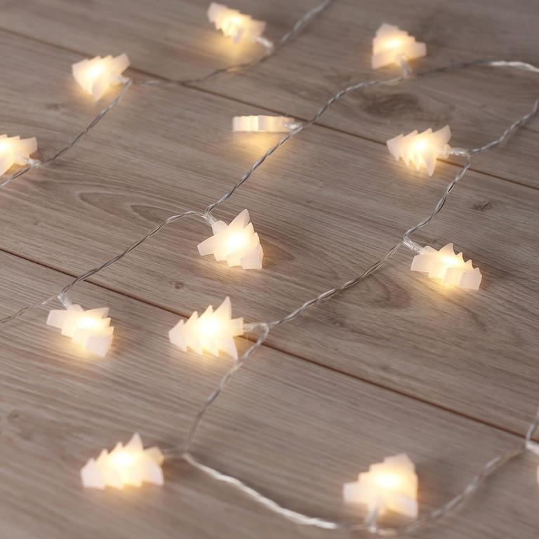 Světelný řetěz Stromečky 20 LED 2,4 m