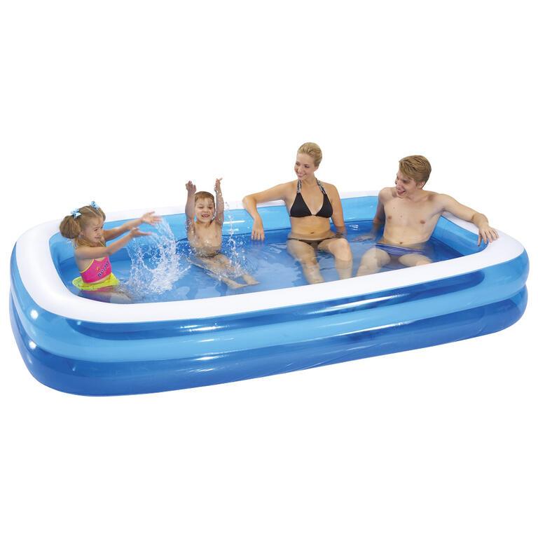 Nafukovací dětský obdélníkový bazén