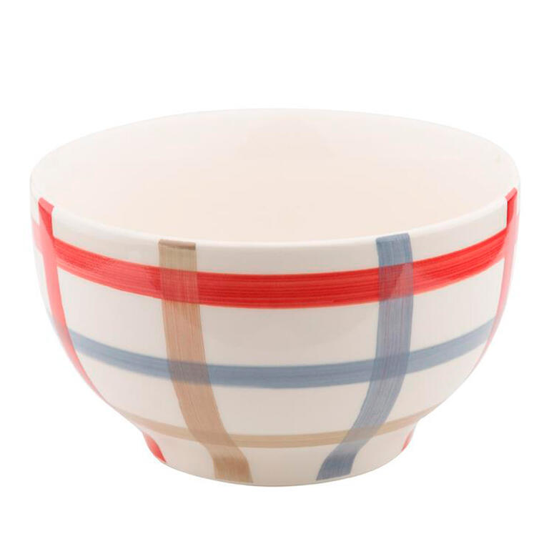 Florentyna Porcelánová miska PARILLA červená Ručně malovaný vzor <p><strong>Porcelánová miska Parilla</strong> s originálním ručně malovaným vzorem oživí Vaši kuchyni. Vhodná do mikrovlnné trouby. Nedoporučujeme mýt v myčce nádobí.</p> <p>