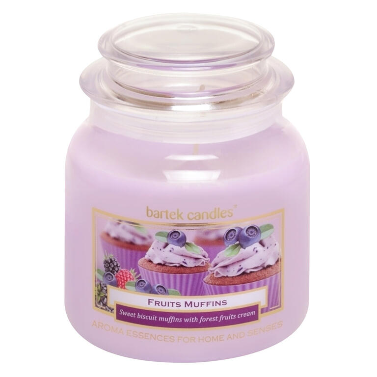 Bartek Candles ovocný muffin 430g
