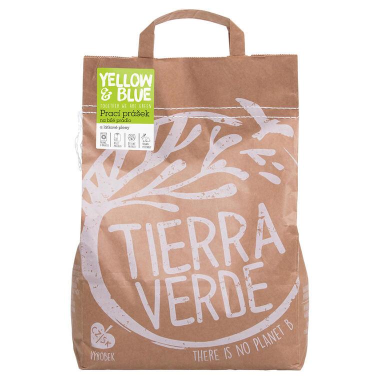 Tierra Verde Prací prášek na bílé prádlo a pleny 5 kg