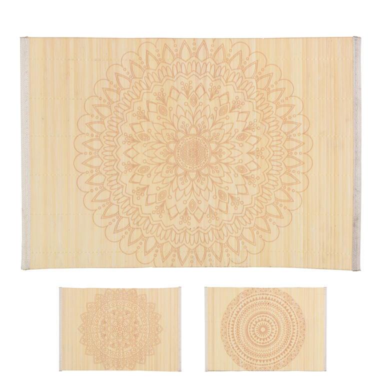 ORION Prostírání bambus/polyester MANDALA 44,5x30cm