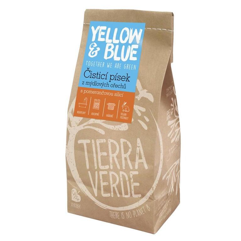 Tierra Verde čisticí písek z mýdlových ořechů 1000 g
