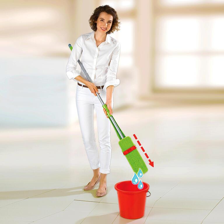 Wenko 655566 Wringo-Star mop na podlahu