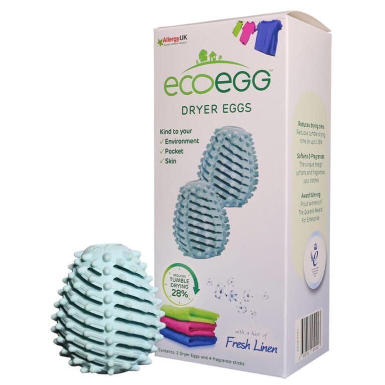 Vajíčka Ecoegg do sušičky sada 2 ks svěží bavlna
