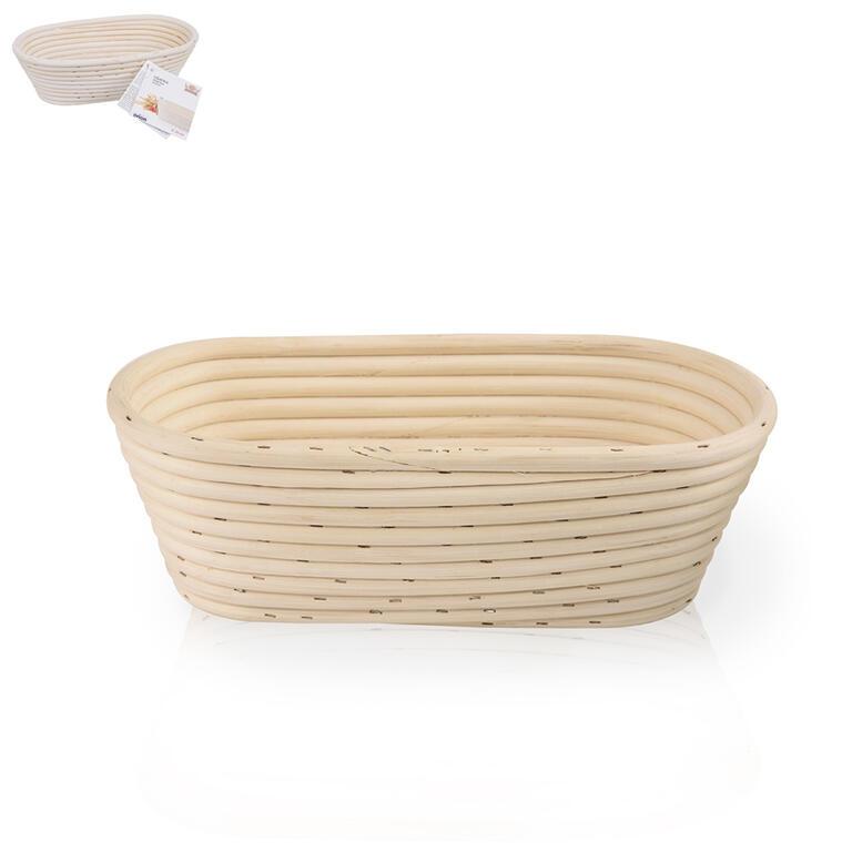 Oválná chlebová ošatka 26x13x9 cm