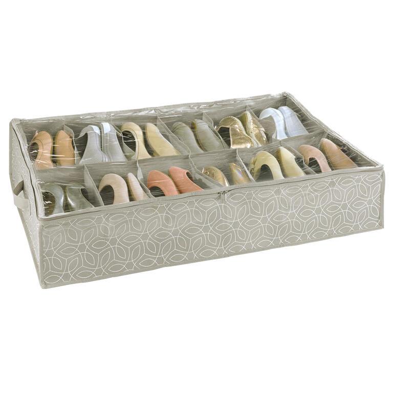 Úložný box na boty pod postel