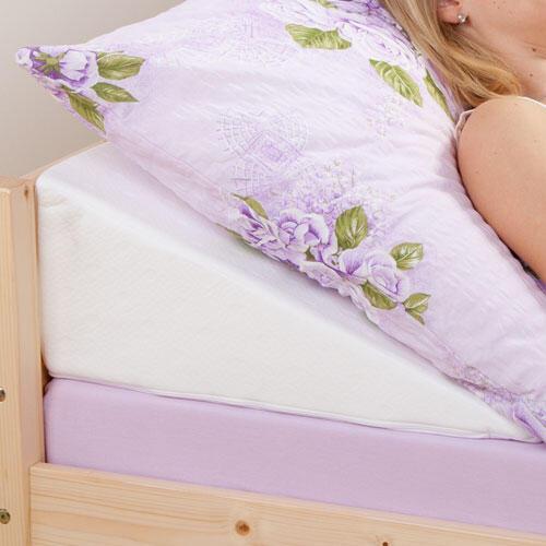 Klínový podhlavník do postele  - 1