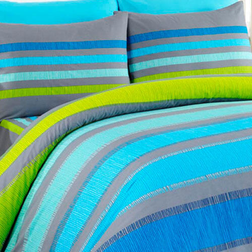 Tip Trade Bavlněné povlečení Susan modré 140 x 200 cm, 70 x 90 cm