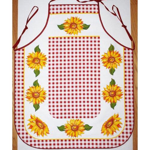 Kuchyňská zástěra Slunečnice