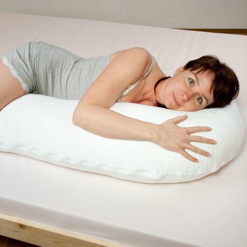 Tvarovaný polštář pro spaní na boku  - 1