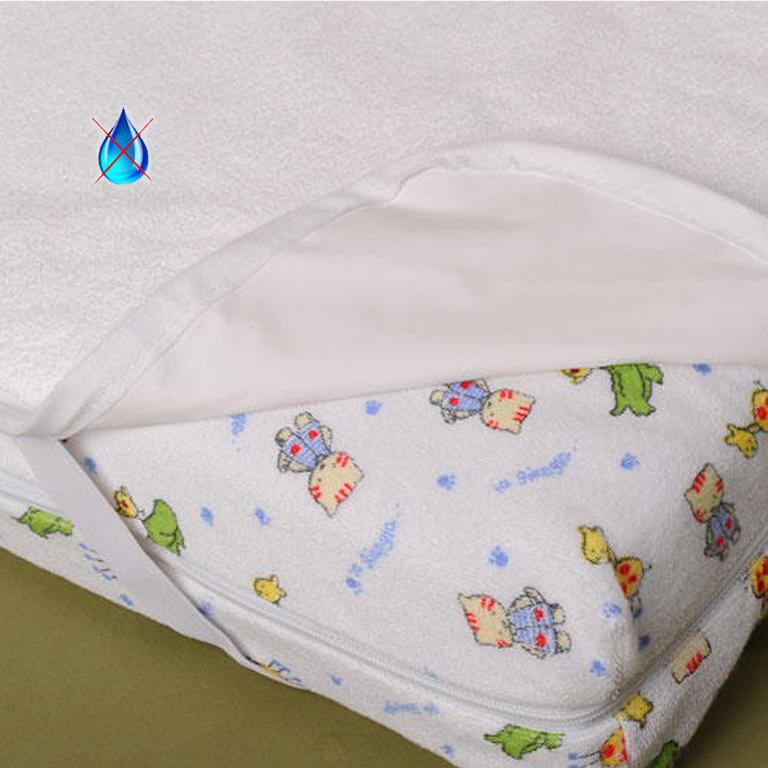 Dětský nepropustný chránič matrace
