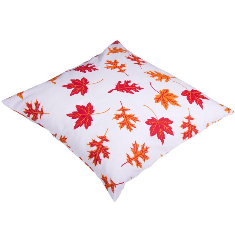 Bavlněný povlak na polštářek Podzimní listí