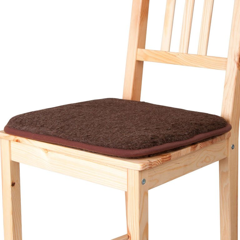 Podsedák na židli zovčí vlny 40 x 40 cm