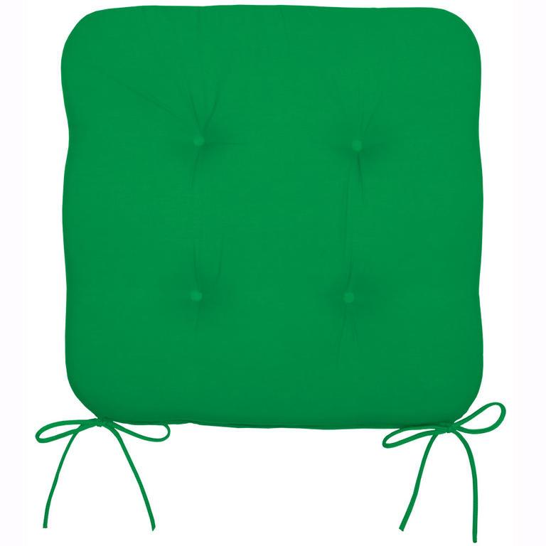 Podsedák na židli zelený