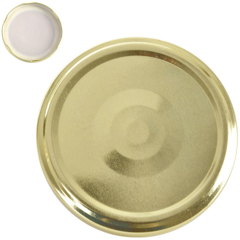 Víčka na zavařovací sklenice 8,2 cm 10 ks