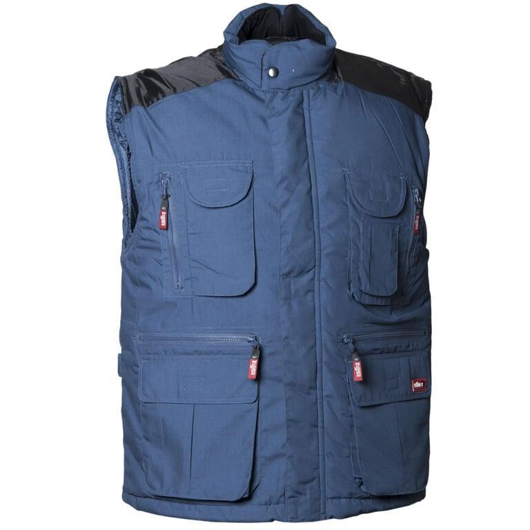 Pánská vesta VICENZA modrá 4XL - 1