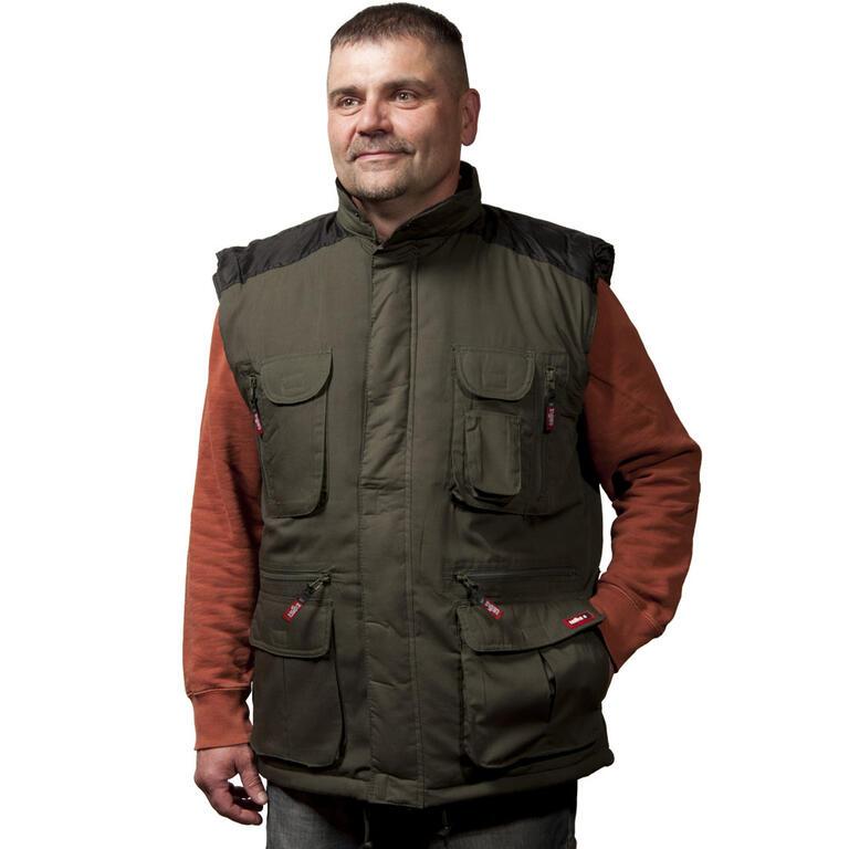 Pánská vesta VICENZA zelená  - 1