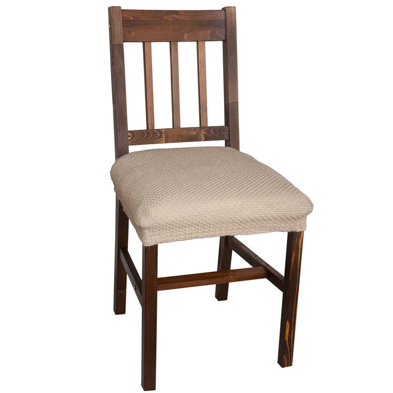 Multielastické potahy CARLA oříškové židle 2 ks 40 x 40 cm - 1