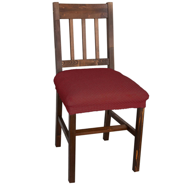 Multielastické potahy CARLA bordó židle 2 ks 40 x 40 cm - 1