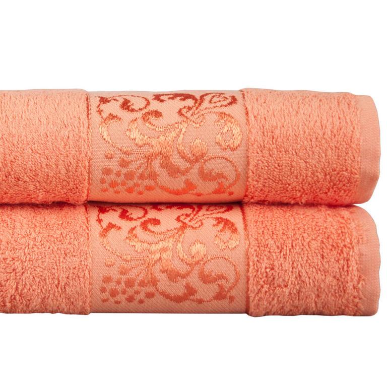 Bambusové ručníky meruňkové  - 1