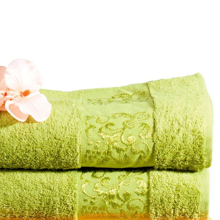 Bambusové ručníky kiwi sada 2 kusů
