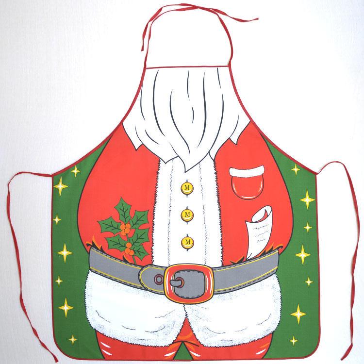 Kuchyňská zástěra Santa  - 1