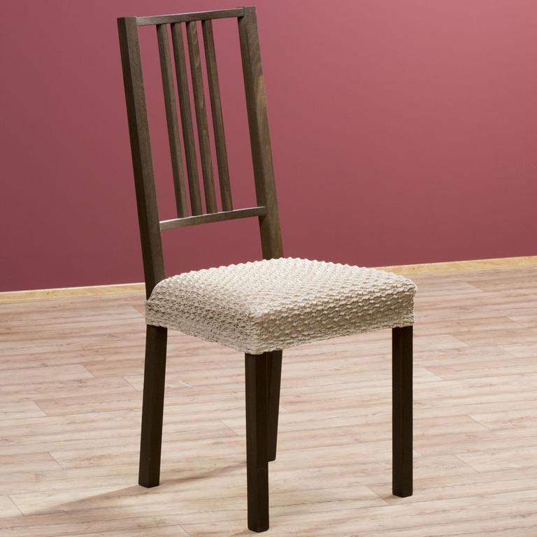 Multielastické potahy REBECA oříškové židle 2 ks 40 x 40 cm - 1