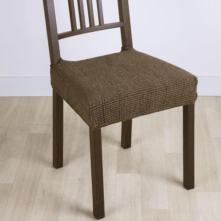 Nueva Textura decoDoma napínací potah strečový GLAMOUR tabákové židle 2 ks 40 x 40 cm
