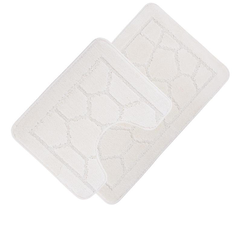Koupelnové předložky GRUND krémové  - 1