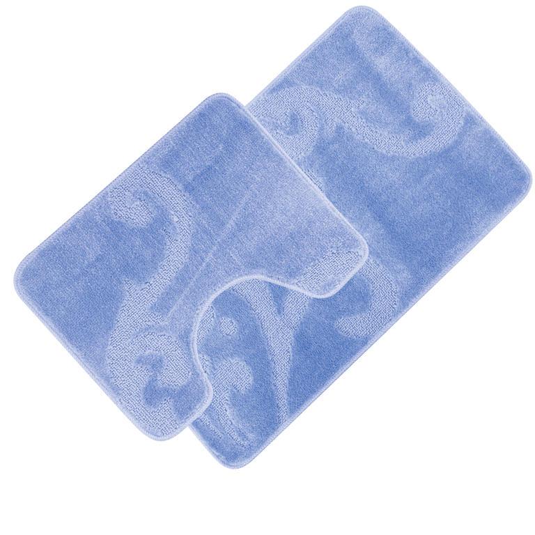 Koupelnové předložky GRUND modré  - 1