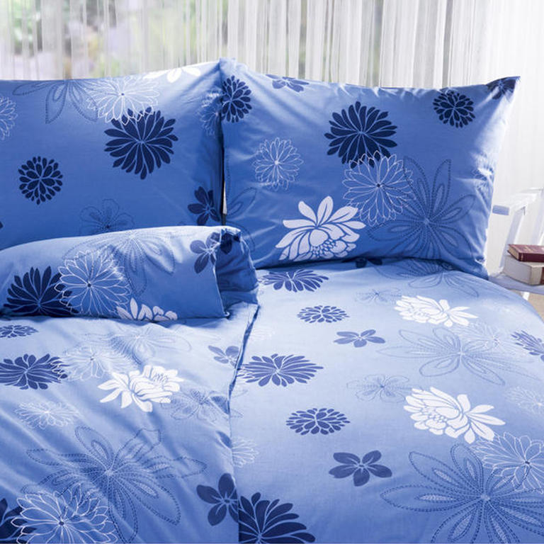 Bavlněné ložní povlečení Greta modré