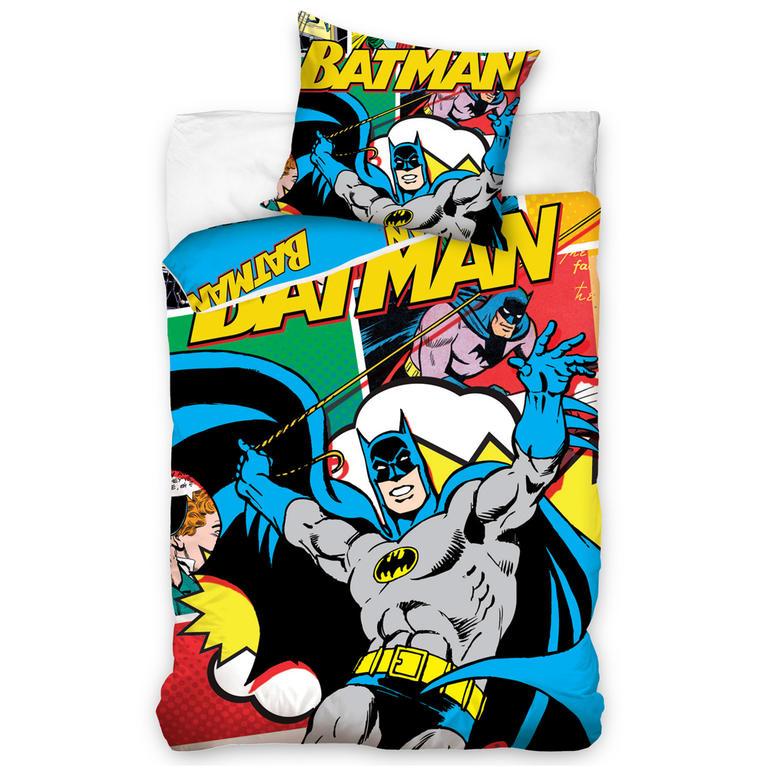 Dětské ložní povlečení Batman komiks