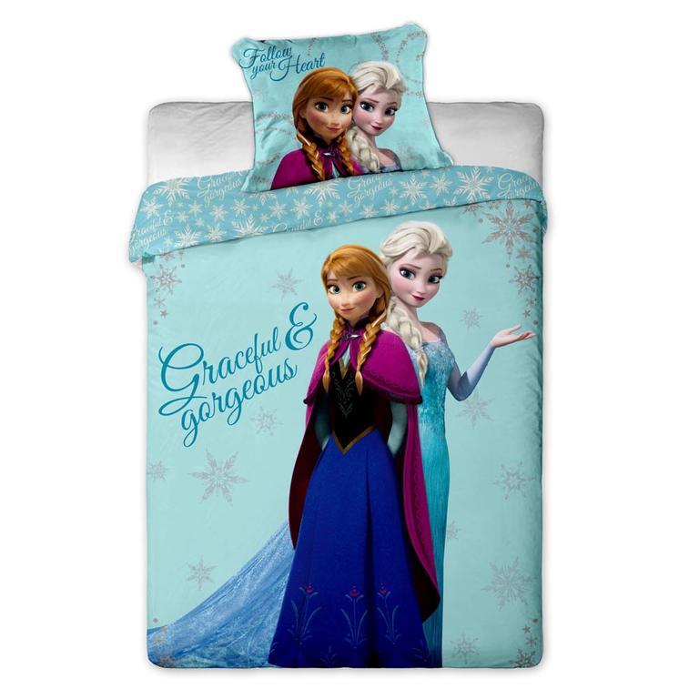 Jerry Fabrics bavlna povlečení Ledové Království Anna a Elsa 140x200 70x90