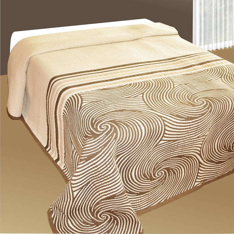 Přehoz na postel ESPIRALES dvojlůžko