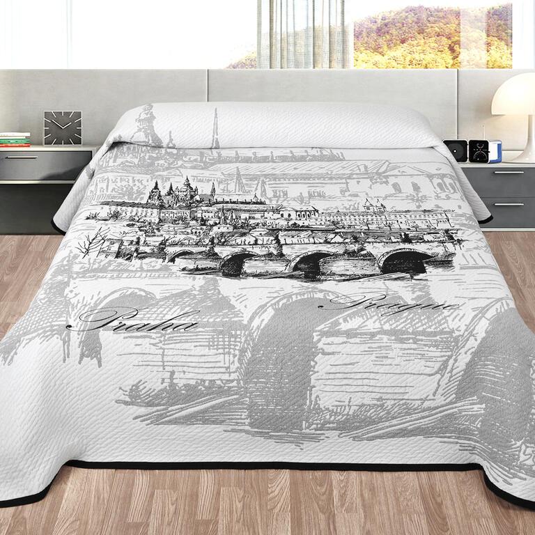 Přehoz na postel PRAHA dvojlůžko