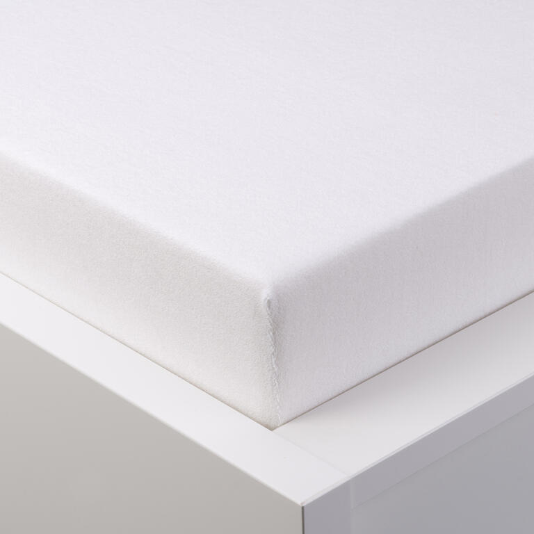 Napínací prostěradlo froté EXCLUSIVE bílá jednolůžko 2 ks - 1