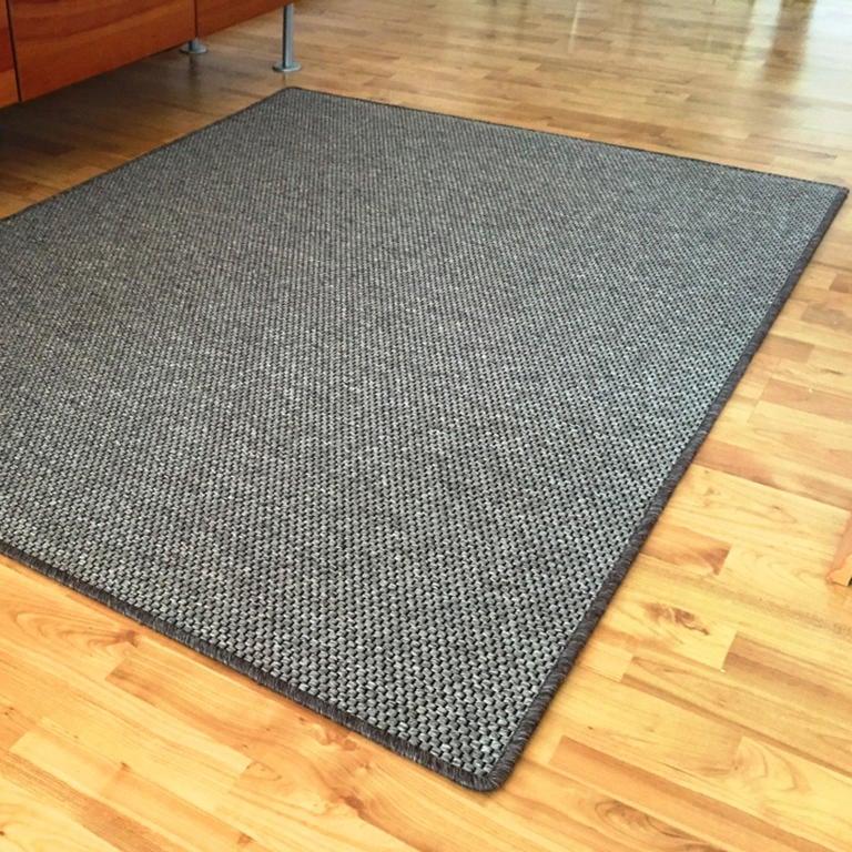 Vopi Kusový koberec NATURE hnědý 120 x 170 cm
