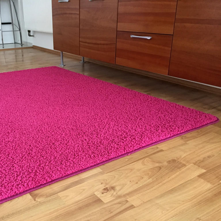 Koberec SHAGGY růžový  - 1