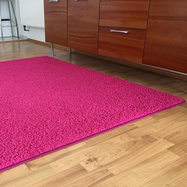 Koberec SHAGGY růžový 120 x 170 cm - 1