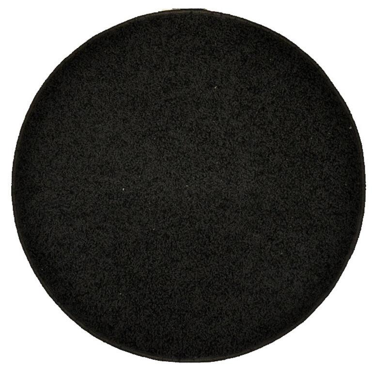 Kulatý koberec SHAGGY antracit  - 1