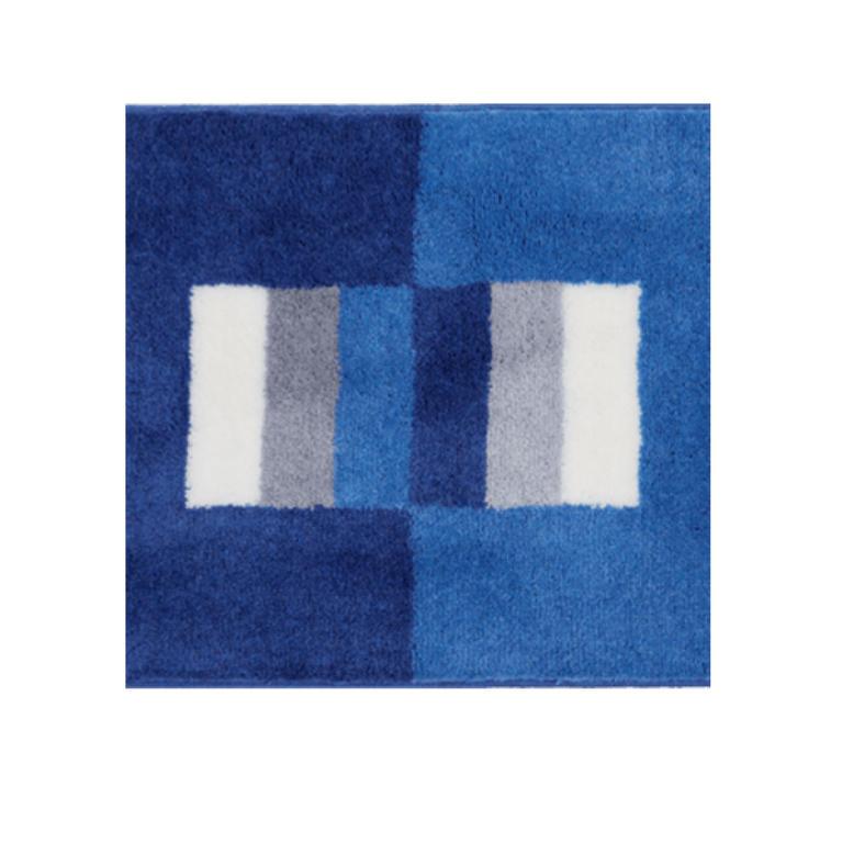 Koupelnová předložka CAPRI modrá k umyvadlu