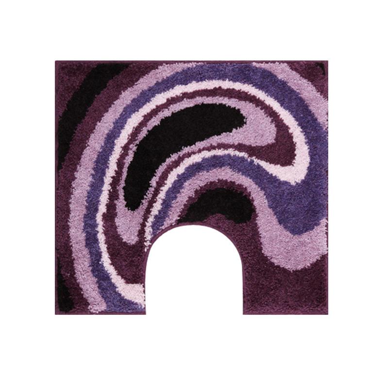 Koupelnová předložka GOBE fialová k toaletě