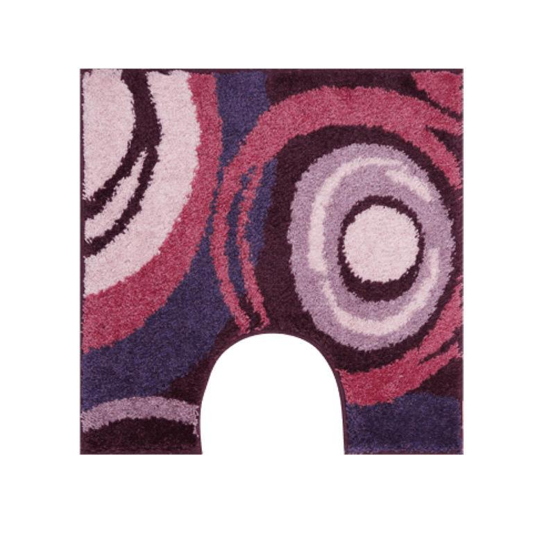 Koupelnová předložka PACIOS fialová k toaletě