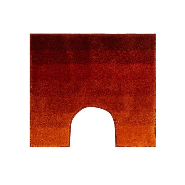 Koupelnová předložka RIALTO oranžová k toaletě
