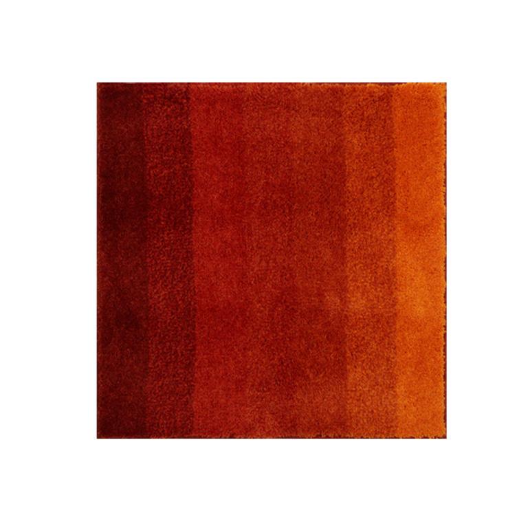 Koupelnová předložka RIALTO oranžová k umyvadlu