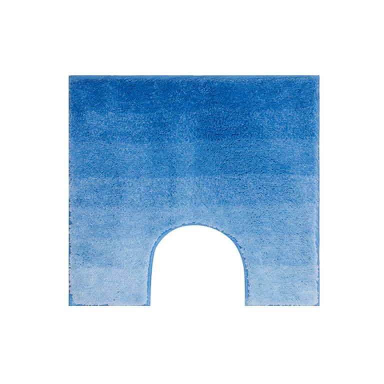 Koupelnová předložka RIALTO modrá k toaletě